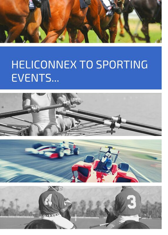 Helicopter to Sporting Events